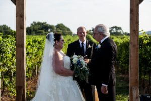Wedding at Big Cork Winery