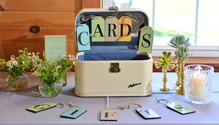 Wedding cards and gifts table